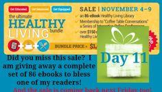 Healthy Living Bundle Giveaway
