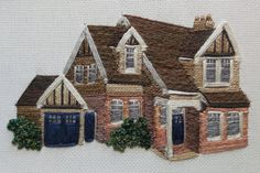 Hand stitched fine art embroidery by Alison Wake - Textile artist, based in the Derbyshire Peak District, UK. Copyright © 2020 Alison Wake Peak District, Derbyshire, Textile Artists, Beaded Embroidery, Hand Stitching, Textiles, Fine Art, House Styles, Home Decor