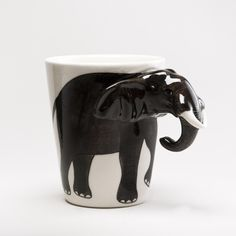 Elephant Mug | World Market    Yes. Favorite animal. Favorite beverage.