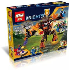 2016 Limited Edition LEPIN Knights Building Blocks Infernox Captures The Queen Buildable Figures Compatible Nexus Legoe #clothing,#shoes,#jewelry,#women,#men,#hats,#watches,#belts,#fashion,#style