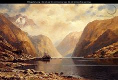 Naero Fjord - Themistocles Von Eckenbrecher