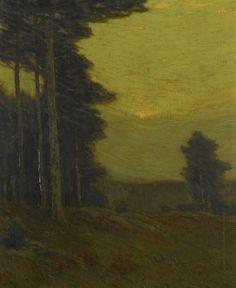 Edge of the Woods, Charles Warren Eaton