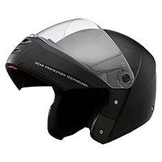 b8db204b Studds ST - 001 Ninja Elite Flip Up Trendy Helmet for Men and Women (L - 58  - 59 Cms,Black, Mirror Visor)