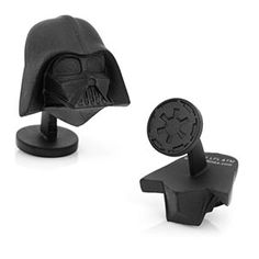These Star Wars 3D Darth Vader Head Cufflinks accompany our tie-of-the-month. They're available for purchase from ThinkGeek at 25% off ONLY in the month of December.
