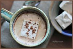 Homemade Hot Chocolate Recipe : This homemade hot chocolate recipe will blow your mind. It's creamy, delicious, and sweetened naturally without the use of corn syrup or processed sugar.