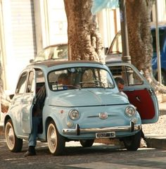 Fiat 500 in Syracusa, Sicily Fiat 500 Car, Fiat Cars, Fiat 600, Fiat Cinquecento, Fiat Abarth, Cute Cars, Small Cars, Maserati, Ferrari