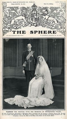 Princess Mary of England 1922   Princess Mary, and Viscount Lascelles Wedding Portrait, 1922   Flickr ...