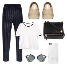 """""""Untitled #162"""" by foxybot ❤ liked on Polyvore featuring MANGO, Givenchy and Native Union"""