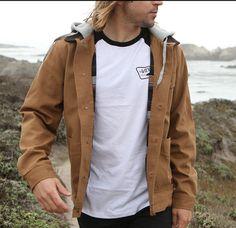 Layer on and zip up in the Vans Prentice Jacket.