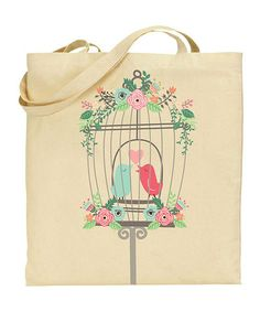 Love this Caged Birds Tote Bag on #zulily! #zulilyfinds