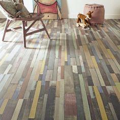 carrelage sol gris warmwood 60 x 60 cm - castorama   decoration ... - Parquet Flottant Cuisine Castorama