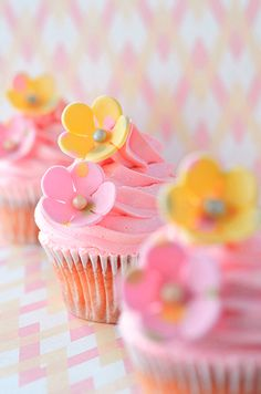 Love pink & yellow for Easter