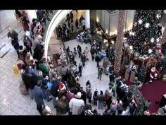 Flash Mob Christmas Caroling at Mall - inspiring. A MUST SEE on this SACRED HOLIDAY.