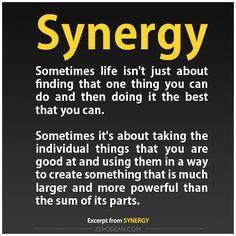 Synergy (BLOG) Zero Dean thinks…