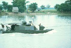 vietnamese navy | photo 10 a vietnamese alpha boat heading down the bassac river near ...