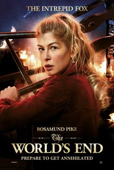The World's End - Rosamund Pike poster