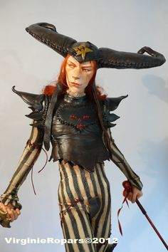 "OcéanoMar - Art Site : VIRGINIE ROPARS, sculpture (Doll art) of Gerald Brom ""Jack""."