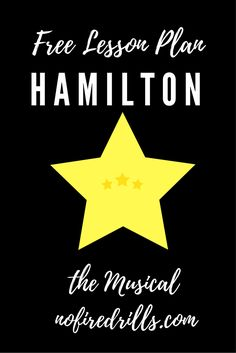 Awesome lesson plan for teaching Hamilton! Perfect for high school history, especially AP US and honors, regular US history. Informations About Teach Hamilton (the Musical) In the Classroom - Be your Teaching Us History, History Activities, Teaching Social Studies, History Teachers, Music Activities, Student Teaching, College Teaching, English Activities, History Lesson Plans