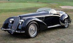 1937 Alfa Romeo 8C 2900B Touring Spider https://www.facebook.com/694826447195747/photos/a.694829190528806.1073741828.694826447195747/1039221756089546/?type=1