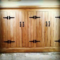 Rustic Oak wardrobe doors by jdwoodwork.co.uk Outdoor Decor, House, Converted Barn, Home, New Homes, Custom Woodworking, Oak Wardrobe, Doors, Wardrobe Doors