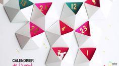 DIY : un calendrier de l'avent géométrique