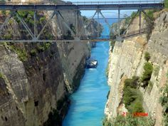 Corinthos Canal-Greece
