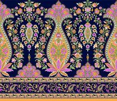 Bali Garden, Paisley, Spider Art, Baroque Decor, Baroque Pattern, Textile Prints, Textiles, Illustration, Photo Editing