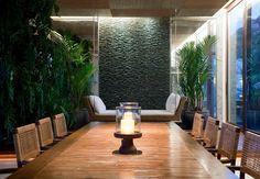 7 Best Home Designs Using Indoor Waterfalls