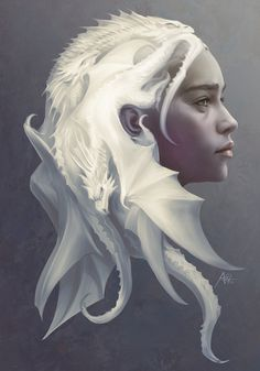 Mother of Dragons by Artgerm™