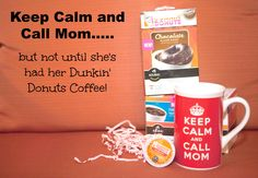 Did you know that you can get Dunkin' Donuts® Coffee In Your PJ's with Dunkin' Donuts® K-Cup® Pods! Now available in grocery stores!!! Woohoo...just don't ask me to be productive until I've had a cup! ‪#‎DunkinKcupLove‬ ‪#‎ad‬