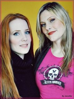 Floor Jansen and Simone Simons