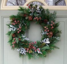 I HAVE ONE OF THESE EXACTLY LIKE THE PICTURE READY TO SHIP NEXT BUSINESS DAY    Christmas Wreath, Wreath for Christmas, Winter Wreath, Holiday Wreath