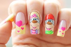 Cute Nails, Pretty Nails, Disney Acrylic Nails, Nail Art Pictures, Holiday Nail Art, Manicure E Pedicure, Nail Decorations, Creative Nails, Nails Inspiration