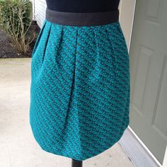 "Selling this ""Teal and Gray bubble mini- skirt, M"" in my Poshmark closet! My username is: kmadeoy. #shopmycloset #poshmark #fashion #shopping #style #forsale #Dresses & Skirts"