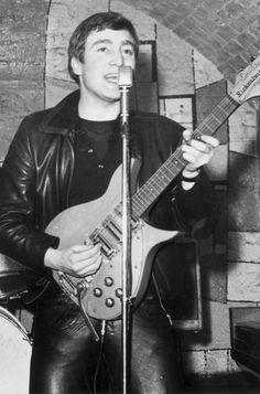 John Lennon at the Cavern in 1961.