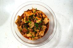 This recipe teach you a easy way to cook authentic mapo tofu that tastes like the one you have in a Chinese restaurant.