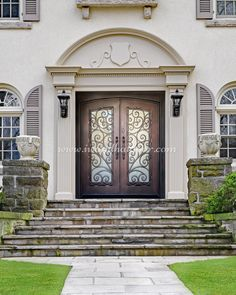 😍😍😍 Landscaping needs a certain blend of beauty and functionality to be truly great! -- ☎️☎️☎️ Call 877-205-9418 for Orders and Inquiries 💰💰💰 Ask us about our EXCEPTIONAL OFFERS 🆓🆓🆓 Take advantage of FREE CONSULTATION and FREE DESIGN ⚠️⚠️⚠️ About this Beautiful IRON DOOR: Tuscany Double Entry Iron Door -- #cheapirondoor #modernirondoors #entrydoors #bifolddoors #slidingdoor #steeldoors #pivotdoors #frenchdoors #freeconsultation #glassgaragedoor #homeimprovement
