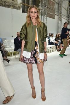 Olivia Palermo attends the Giambattista Valli Haute Couture Fall 2016 show as part of Paris Fashion Week on July 4 2016 in Paris