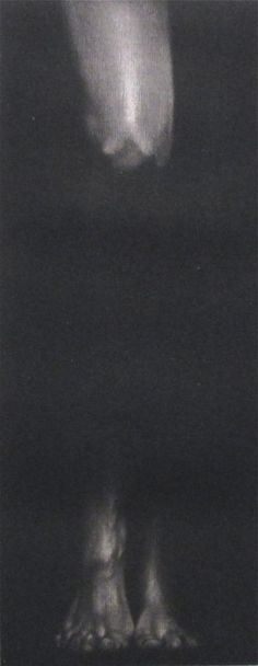 MIKIO WATANABE 1954 JAPAN PARIS MEZZOTINT 1981 ARTIST PROOF LEG FEET SENSUAL #Realism