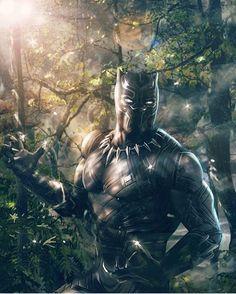 Black Panther!! Art by Rudy Ao  #BlackPanther #Marvel #MarvelComics #Comics #ConceptArt #Art #Artist #Superhero