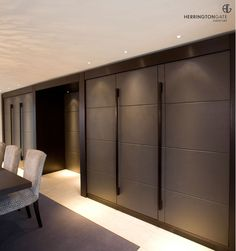 Contemporary Living - Leather Doors from Herrington Gate