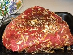 Beef sirloin tip roast in crockpot - making this tonight so we'll see how it goes!
