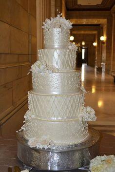 Shimmer cake - by patisserie42 @ CakesDecor.com - cake decorating website