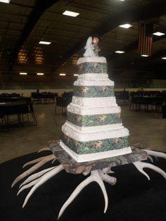 camo wedding cakes | In community album: Square Wedding Cakes