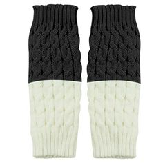 LOVELYIVA 1 Pair Fashion Women Knitted Leg Warmers Socks Boot Cover - New Dresses Special Today