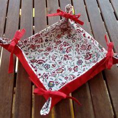 Tutorial de costura: cesta para el pan | Las cosinas de Laura