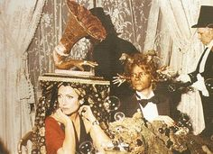 Hélène Rochas and François-Marie Banier at the Rothchild's Surrealists Ball