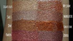 ColourPop Metallic lipsticks and glosses