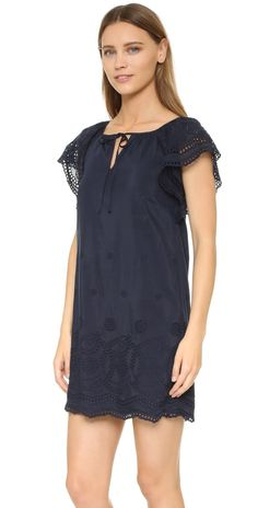 Madewell Embroidered Eyelet Moontide Dress   SHOPBOP