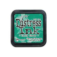 Distress Ink Pad - Lucky Clover